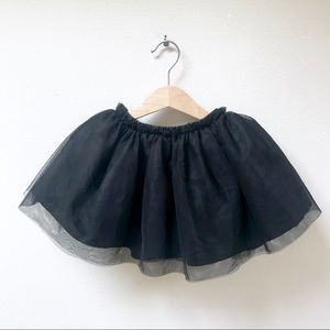 Old Navy Black Tutu Skirt